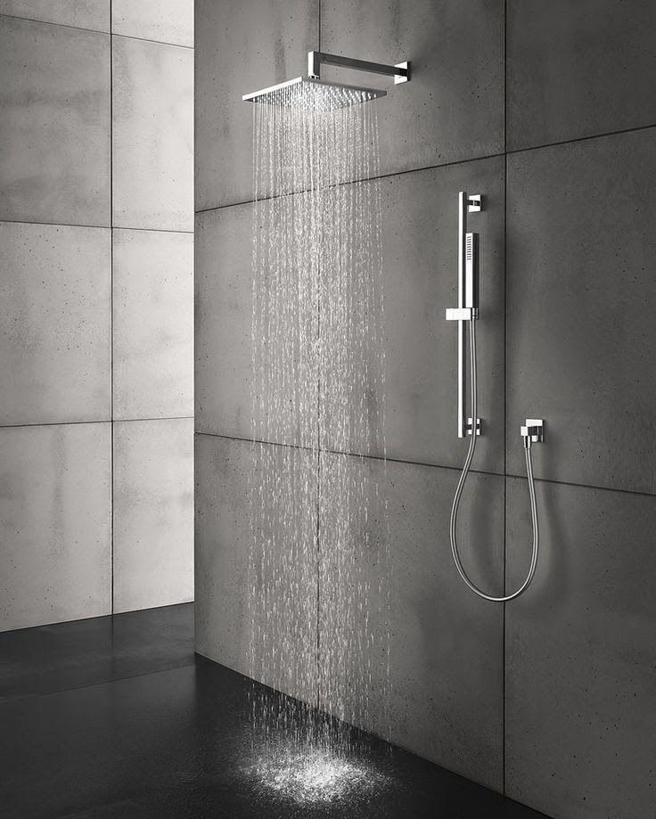 Harmaa laatta, kylpuhuone ja sauna