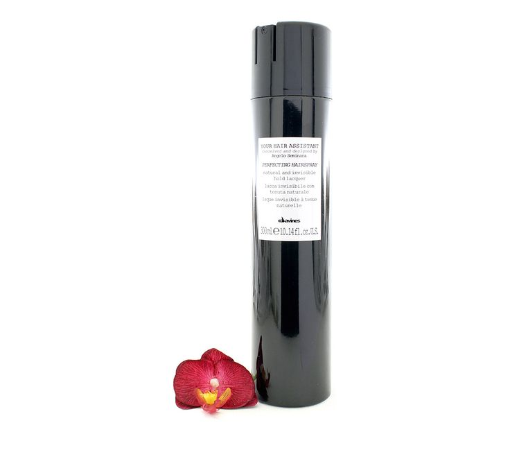 Davines Your Hair Istant Perfecting Hairspray Natural And Invisible Hold Lacquer A Medium With An Effect For Long Lasting