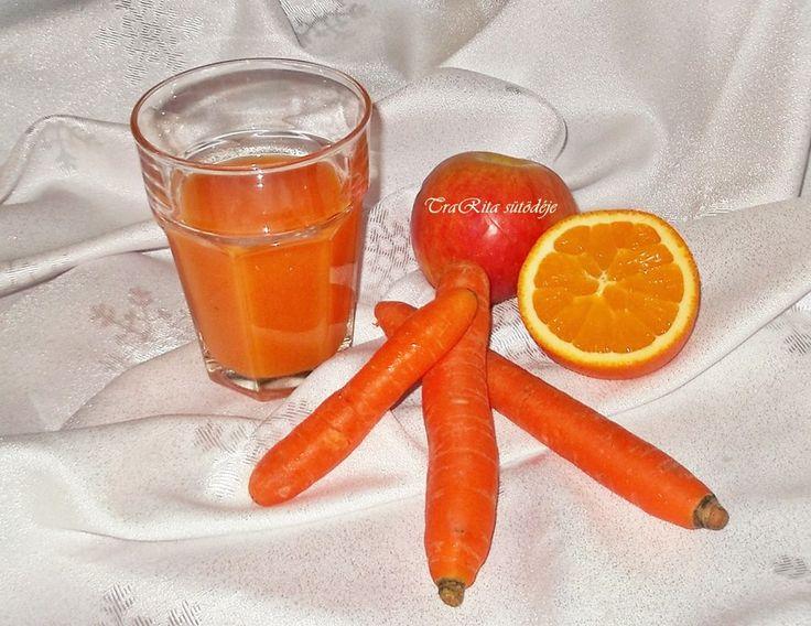 Kubu ital házilag Hozzávalók: 1,5 kg répa tisztítva 2 darab alma ( idared ) 3 db narancs megtisztítva 2 db citrom megtisztítva ízlés szerint cukor illetve méz( utóbbi csak akkor ha már kihűlt az ital 1 liter víz Mindent megtisztítunk, darabolunk, fazékba tesszük és ráöntjük a liter vizet. Addig főzzük míg megpuhulnak az alapanyagok, majd összeturmixoljuk. Vízzel hígítjuk, cukorral vagy mézzel is ízesíthetjük, ha már kihűlt az üdítőnk