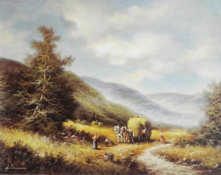 European Countryside (Reprint on Paper - Unframed)