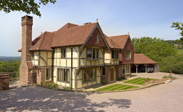 Timber frame straw bale homes uk google search house for Oak framed house designs