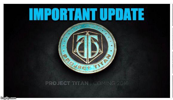Project Titan Update By Chris Jones, Desmond Soon, Desmond-Soon.com, Vancouver Entrepreneur