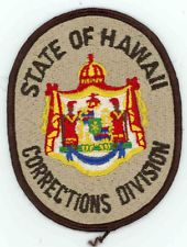 HAWAII DEPARTMENT OF CORRECTIONS OLD PATCH