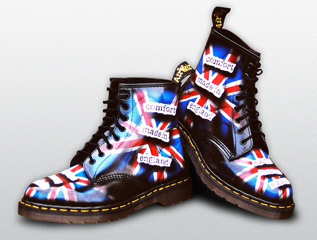 Would you have the courage to wear these British shoes?