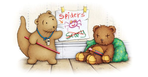 Otter stories: Spider Training