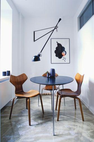 love this breakfast space: Dining Rooms, Inspiration, Interiors, Diningroom, Light, Design
