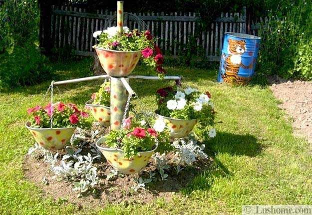 22 Unusual Containers With Flowers To Add Fun To Summer