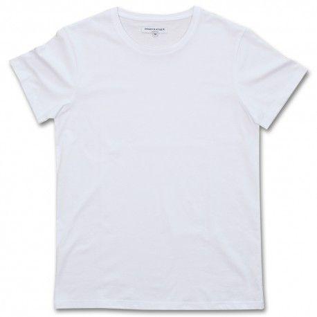 DEMOCRATIQUE UNDERWEAR Supreme T-shirt WHITE / WIT - DEMOCRATIQUE UNDERWEAR