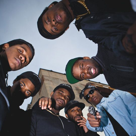 ASAP Mob Re-Creates Classic Album Covers for VICE-01 // http://babesngents.com/ // #babesngents