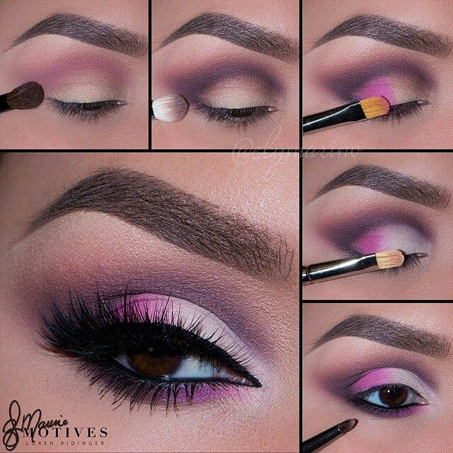 repost from @elymarino For those of you who love Pink and maybe want to try and recreate this look, here's a step by step pictorial!