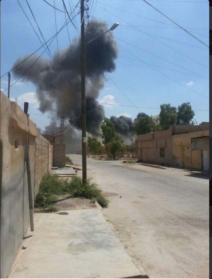 ΣΥΡΙΑ/ Η συριακή αεροπορία βομβάρδισε για α΄φορά θέσεις κούρδων του YPG στη Hasaka BINTEO