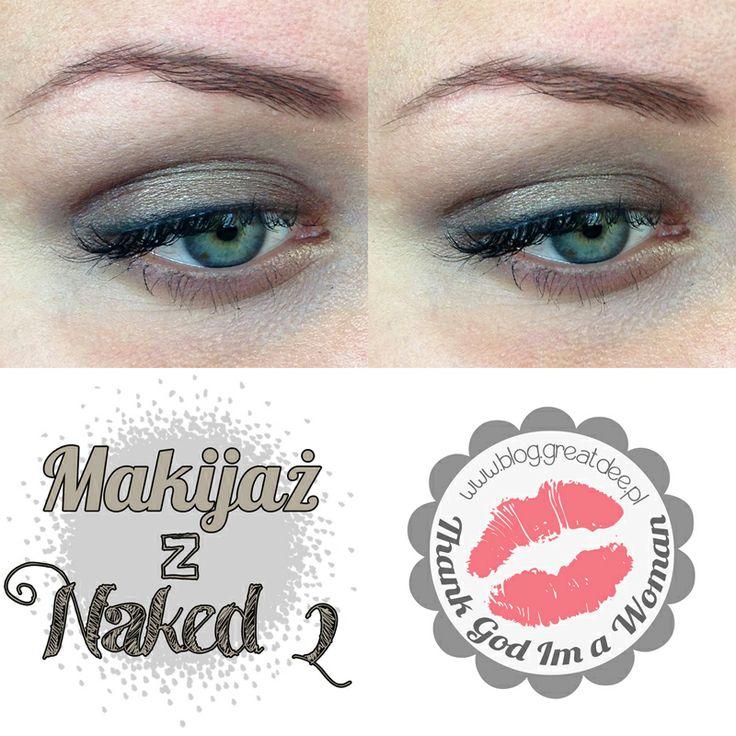 Czwartkowe makijaże: Delikatny makijaż z Naked2 Urban Decay