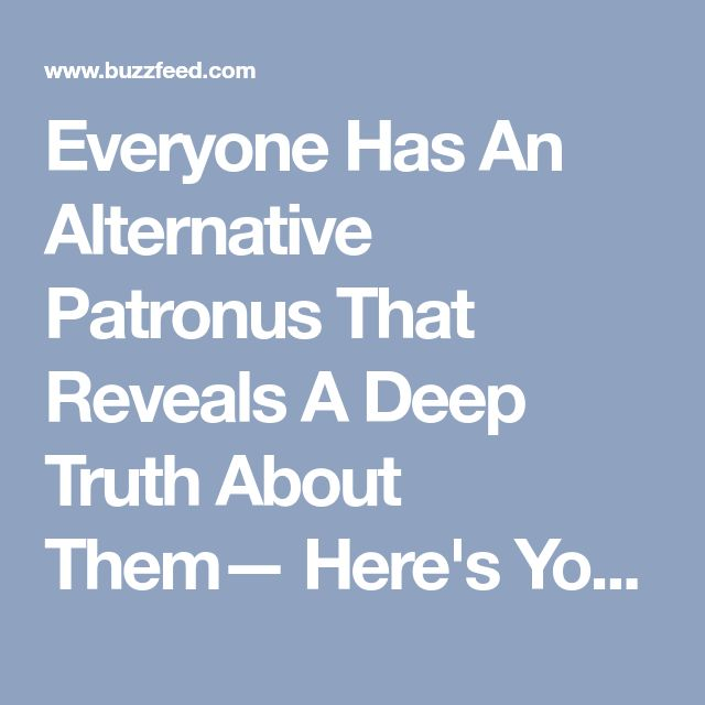 Everyone Has An Alternative Patronus That Reveals A Deep Truth About Them— Here's Yours