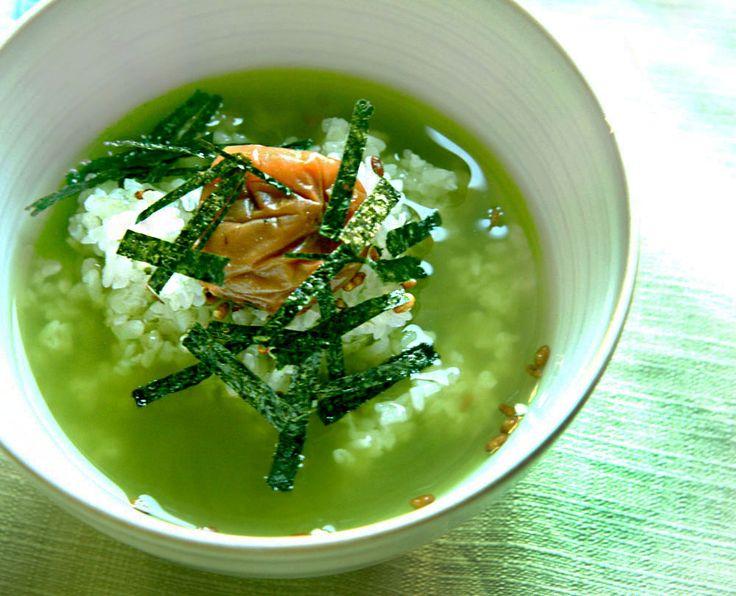 COOKING WITH JAPANESE GREEN TEA: Ochazuke with Matcha