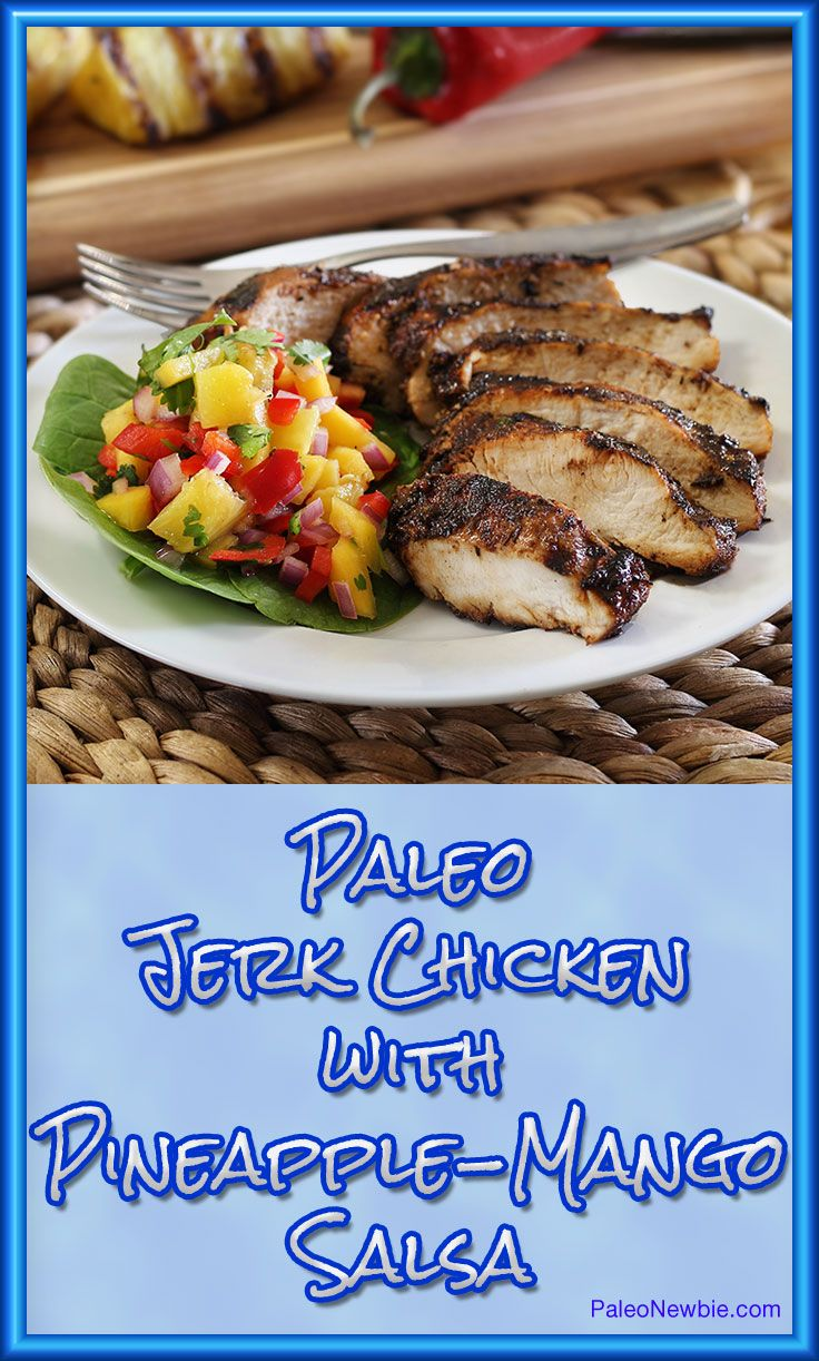 Bring the warmth of the Caribbean to your kitchen table with this authentic jerk chicken recipe. Paleo & gluten-free. Can be cooked indoors with a stovetop grill.