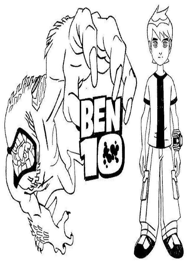 Dibujos Para Colorear Ben 10 Dibujos Para Colorear Dibujos Dibujos Para Pintar