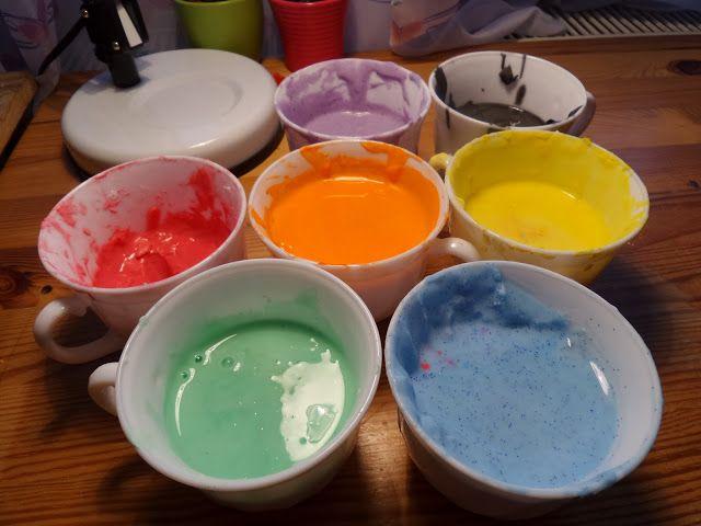Akinajka Art For Kids: Talerzykowe obrazki malowane farbkami ziemniaczany...