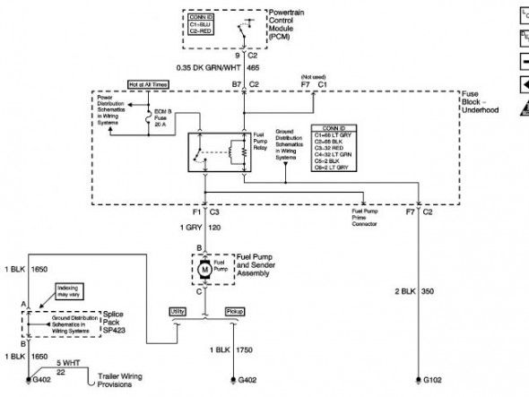 2000 Chevy Silverado Fuel Pump Wiring Diagram di 2020