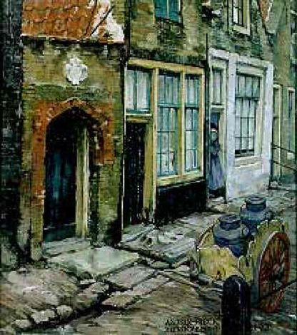 Zierikzee by Anton Pieck