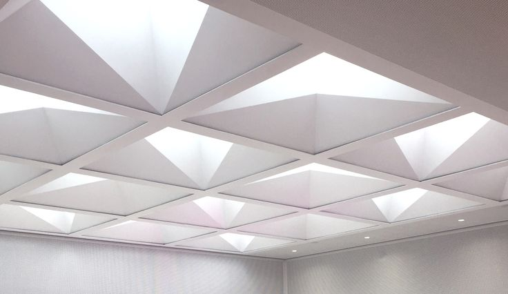 The new ceiling completed in November 2016