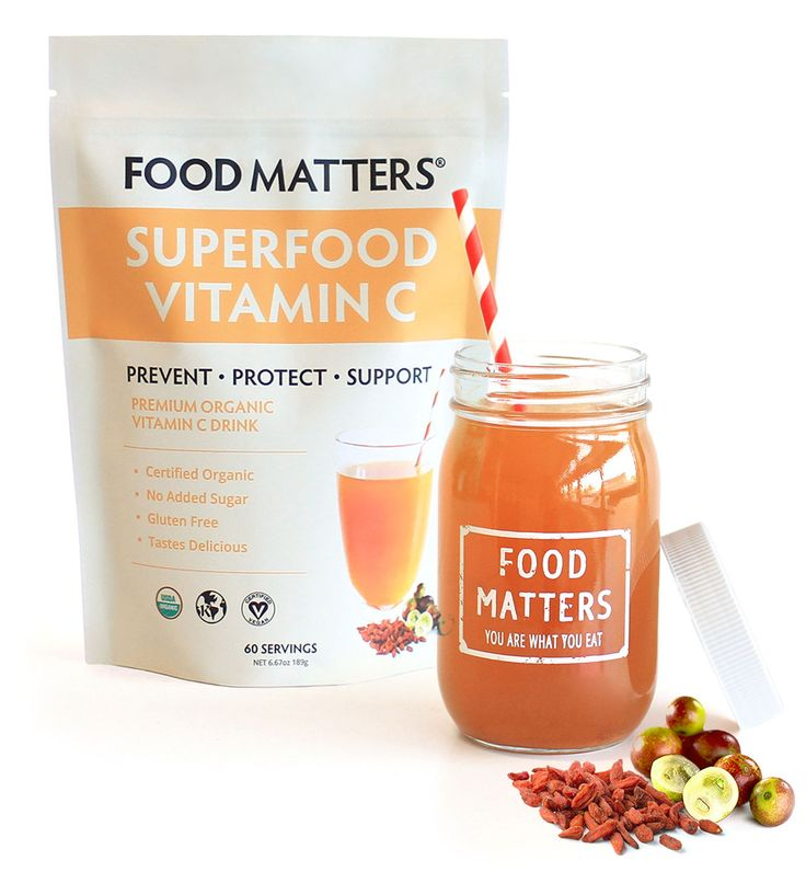 Support your body's strength and vitality naturally with our Superfood Vitamin C!