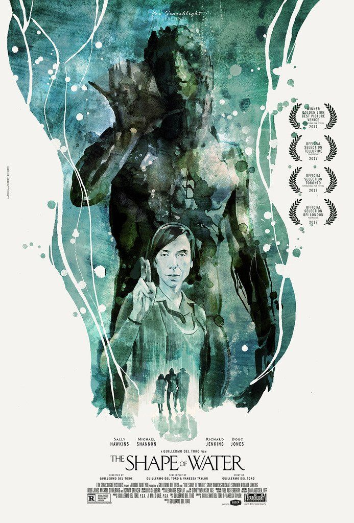The Shape Of Water 2017 The Shape Of Water Water Poster Alternative Movie Posters
