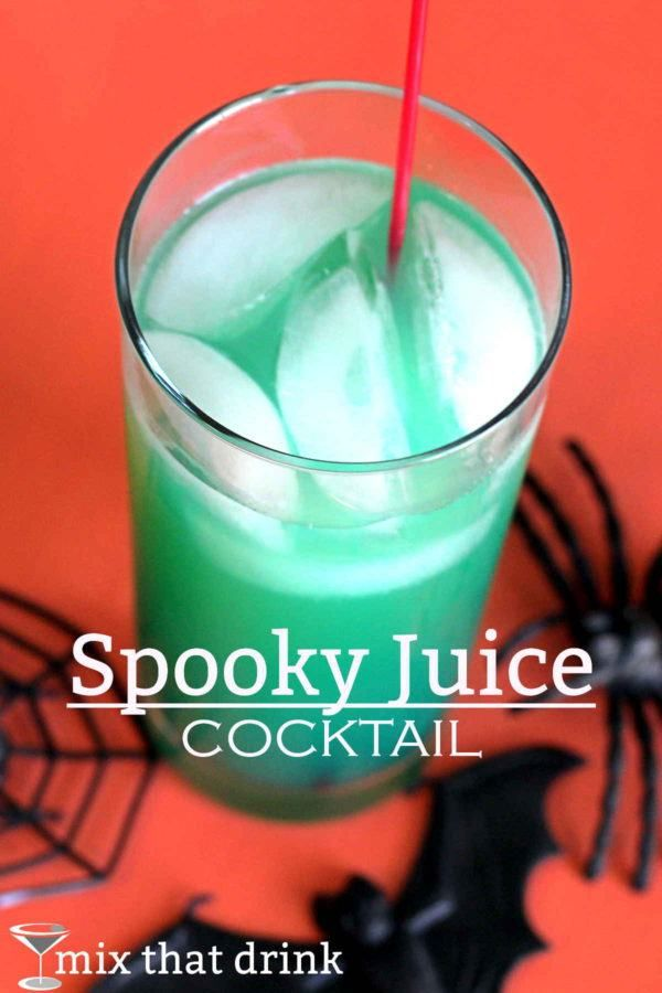 spooky juice drink recipe - Great Halloween Drinks