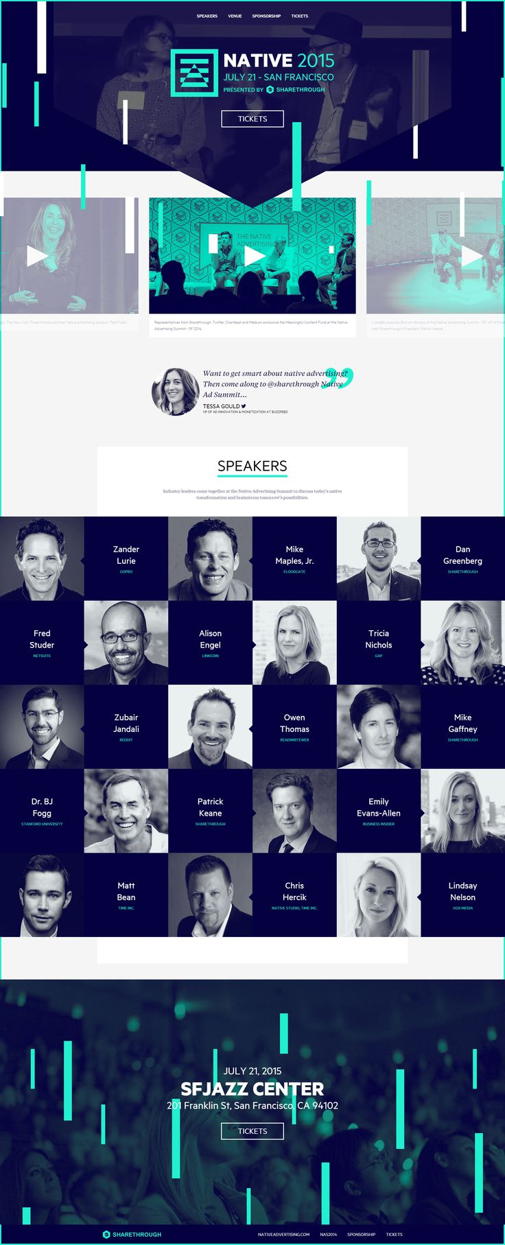 Native 2015 Conference website