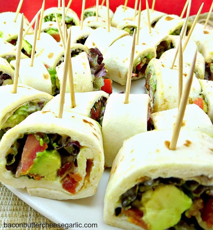 96 Fun Facts About Your Favorite Bridal Designers: Bridal Shower Finger Foods