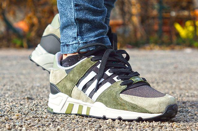 Adidas Eqt Running Support 93 Tent Green