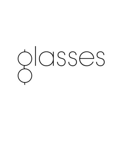 """Glasses"" Logo"