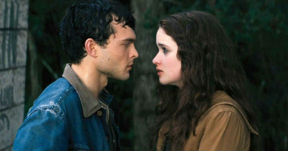 Alice Englert and Alden Ehrenreich in Beautiful Creatures Photo
