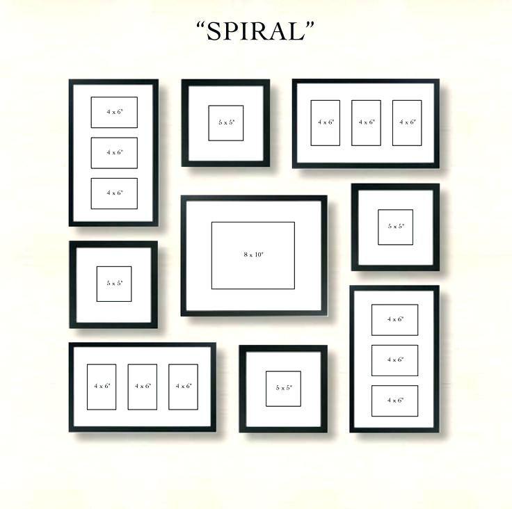 Wall Arrangement Photo Frames On Wall Arrangement 6 Ways To Set Up