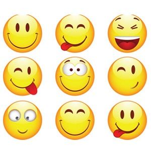 Some of my faces, smiley faces