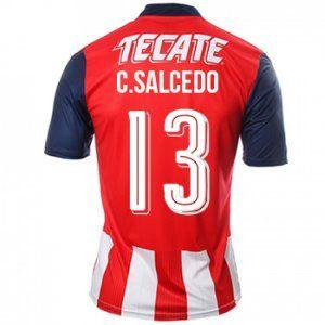 Guadalajara Chivas 16-17 Season Home #13 Salcedo Soccer Shirt [G452]