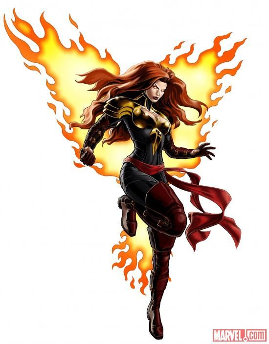 "Marvel Avengers Alliance ""Phoenix Five"" - x-men Photo"