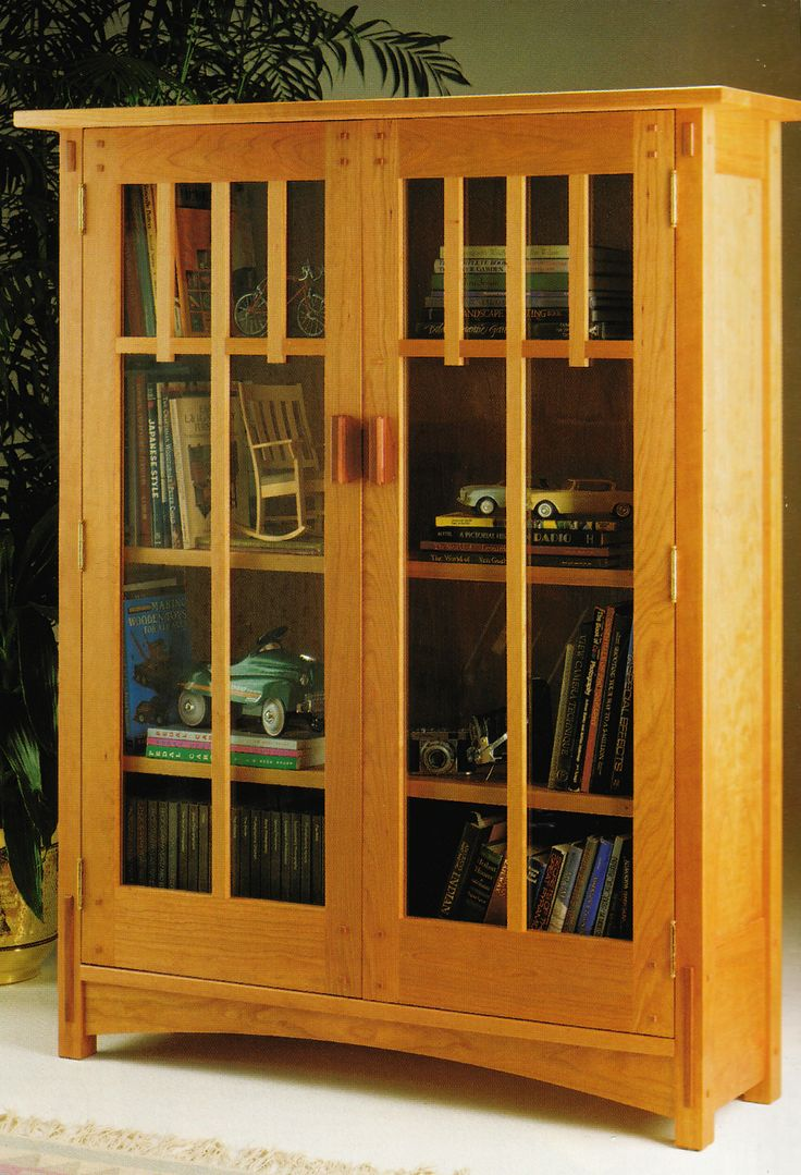 Mission Bookcase from Woodsmith Custom Woodworkingu0027s American Style:  Shaker, Mission u0026 Country Projects.