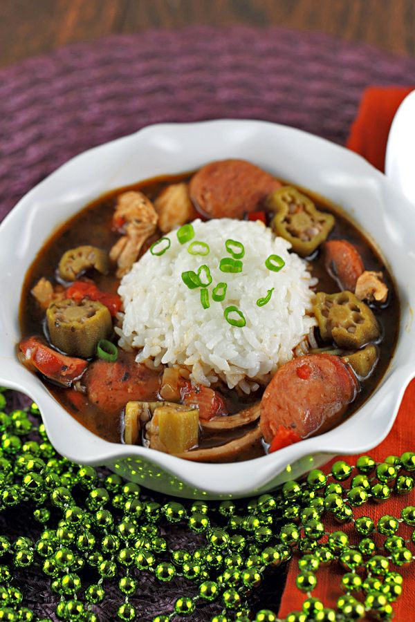 Chicken Gumbo With Andouille Sausage Recipe — Dishmaps