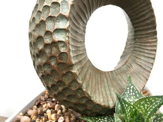 III, Indoor sculptuur, Tuin beeldhouwkunst, modern, eigentijds, bronzen sculptuur, tuin kunst, abstract Limited Edition, Kara Sanches