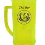 Canecas de acrilico 500 ml personalizadas para chá bar