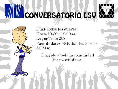 Noticias UPEL Miranda: Se retoman los conversatorio de Lengua de Señas Ve...