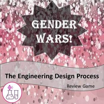 The Engineering Design Process Review Game:  Gender Wars!