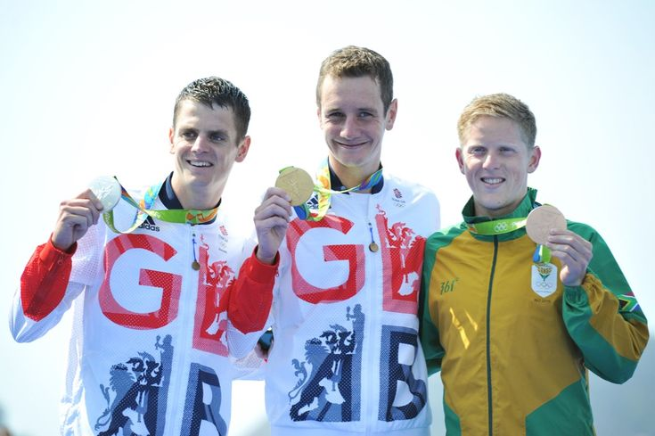 Great Britain's Alistair Brownlee has become first triathlete to successfully…