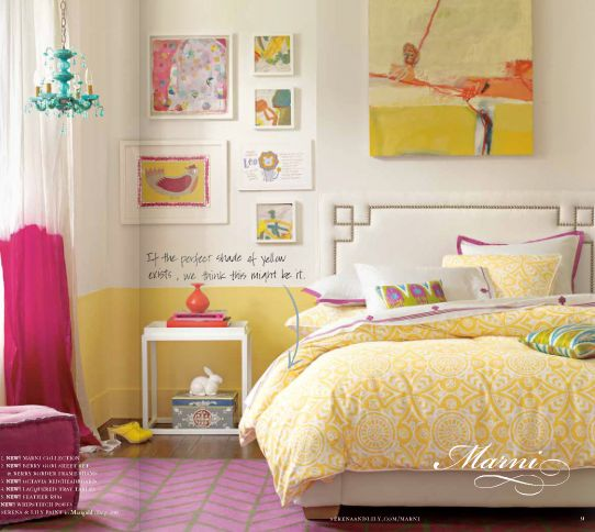 Bedroom Ideas For Teenage Girls Pink And Yellow 75 best teen girl's room ideas images on pinterest | home, bedroom