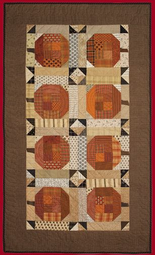 Timeless Traditions Quilts by Norma Whaley - Pumpkins On Parade