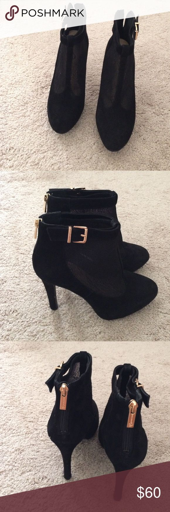 Suede/Lace Bootie(Brand New) Stylist Jessica Simpson Suede/Lace Bootie Jessica Simpson Shoes Ankle Boots & Booties