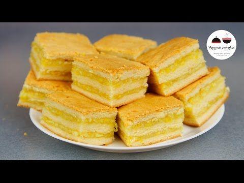 Пирожные с лимонно-апельсиновой начинкой  Homemade Cakes - YouTube