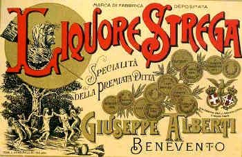Strega Liquore~Full Moon Drinking. Witches Dancing around the Walnut Trees in Benevento~My Ancestors