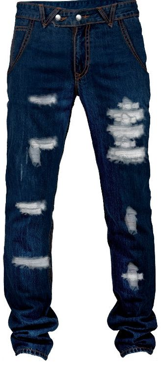 Distressed slim jeans for men [the coolest ones :)!]