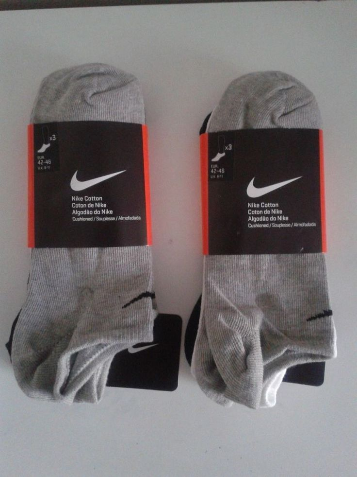 Nike Brand New Ankle Unisex Socks 6 Pack Size US 9-12 EU 42-46 UK 8-11 3 Colors #Nike #AnkleSock